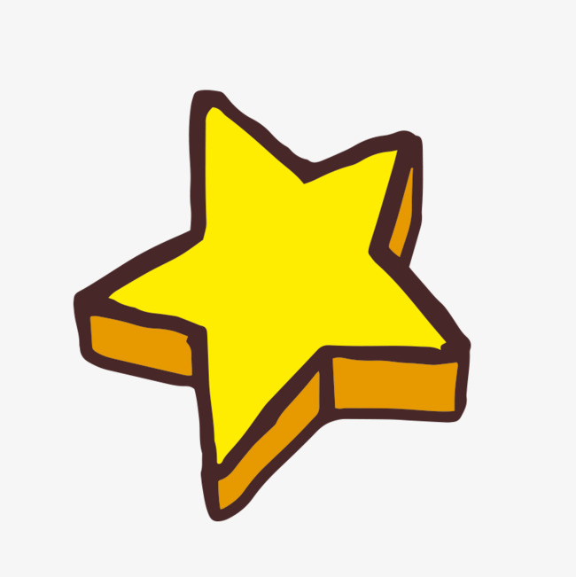 立体五角星png素材下载_高清图片png格式(编号:)-90