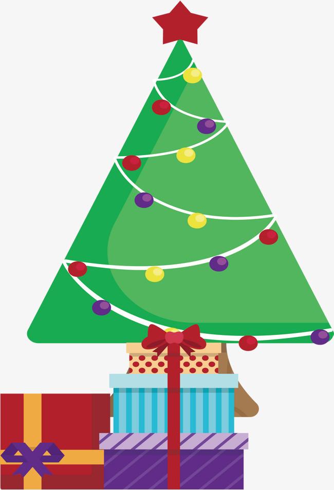 圣诞树下的礼物