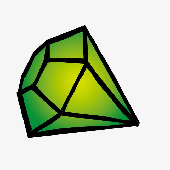 绿色钻石_png素材免费下载_ 1500*1500像素(编号:)_90