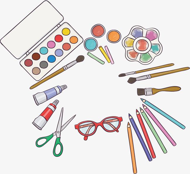 本次美术课绘画工具作品为设计师≤创作,格式为png,编号为 18989036图片