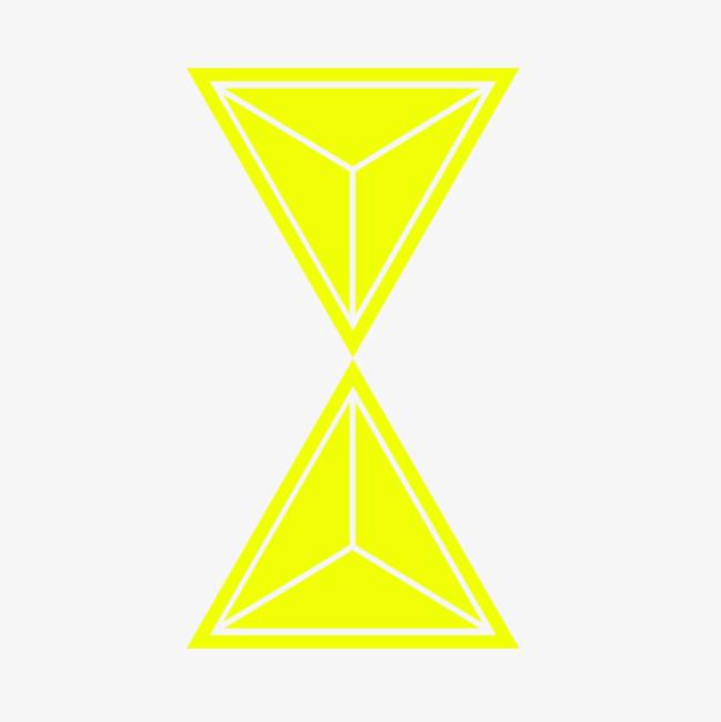 黄色正三角形_png素材免费下载_ 800*800像素(编号:)