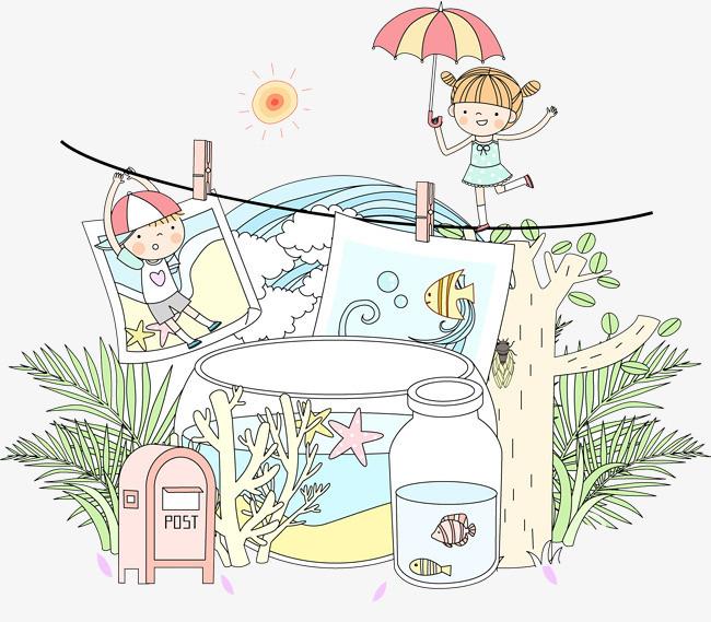 图片 > 【png】 雨伞女孩  分类:手绘动漫 类目:其他 格式:png 体积