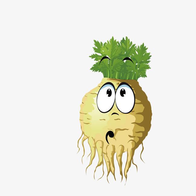 白萝卜的表情图片