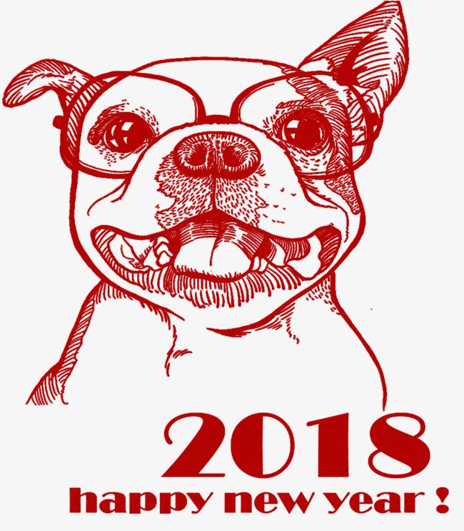 2018狗年设计素材
