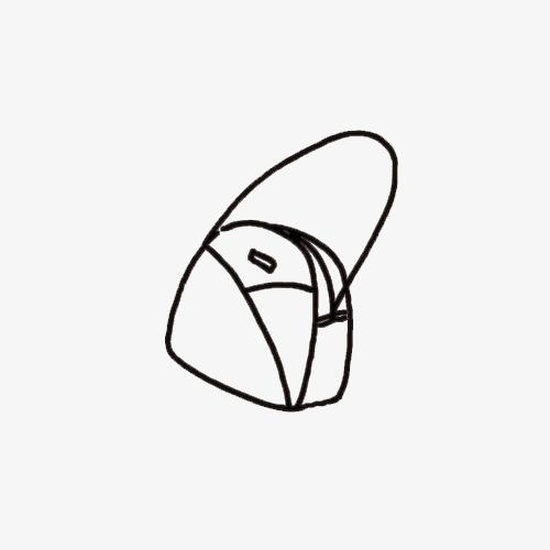 图片 > 【png】 单肩包简笔画  分类:手绘动漫 类目:其他 格式:png