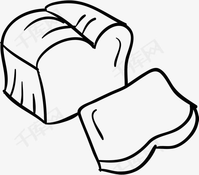 手绘面包片素材图片免费下载 高清psd 千库网 图片编号9079954