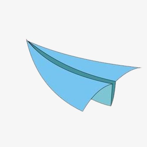 简易纸飞机手绘素描