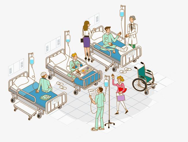 手绘医院漫画