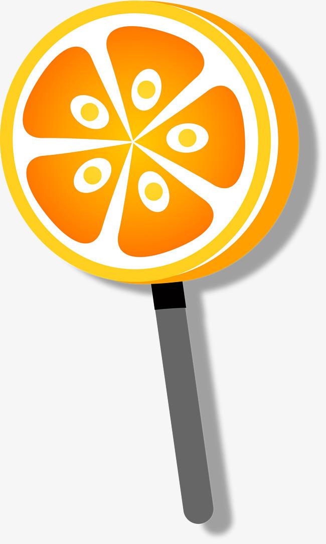 橙色卡通糖果_png素材免费下载_ 2900*4822像素(编号