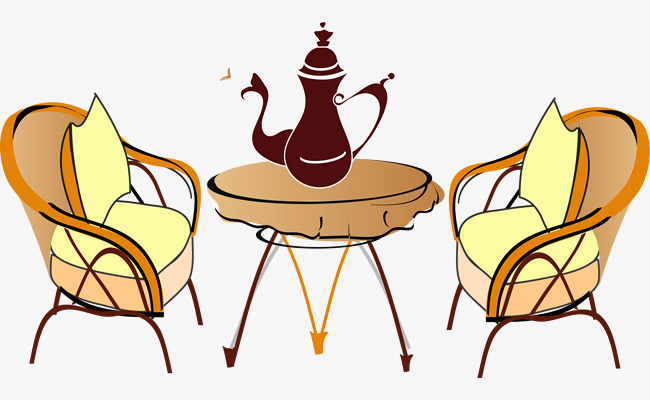 手绘室内沙发座椅酒壶