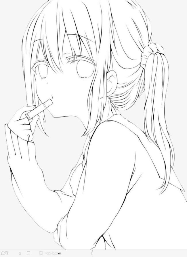 吸烟的卡通漫画男生素材图片免费下载_电影p女孩让女生请看高清图片