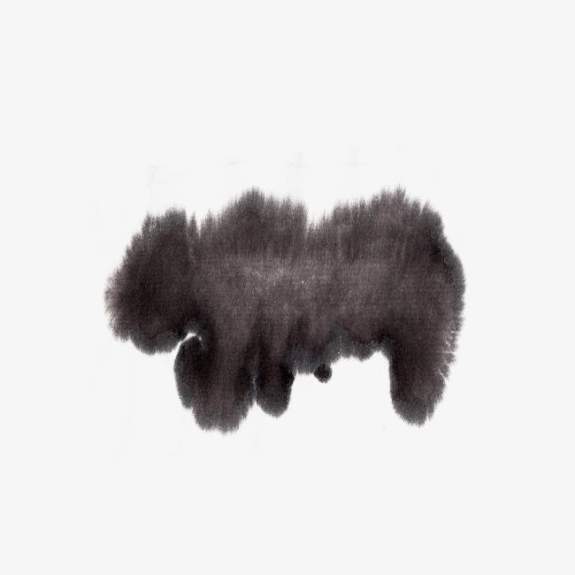 用墨水画的动物脸