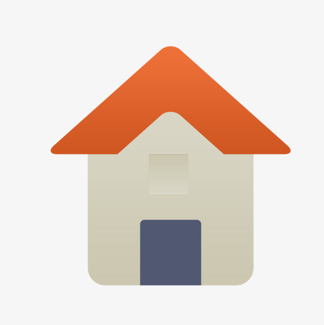 90设计提供高清png其他素材免费下载,本次灰色三角形房屋作品为设计师图片