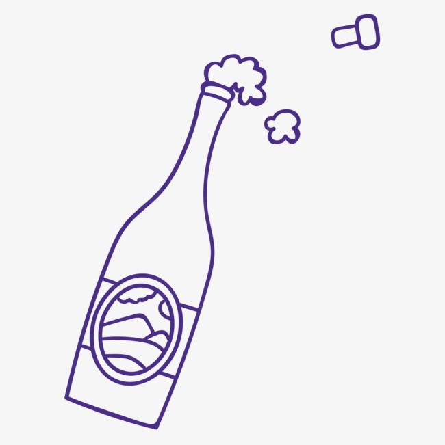 蓝色的酒瓶png素材下载_高清图片png格式(编号:)-90图片