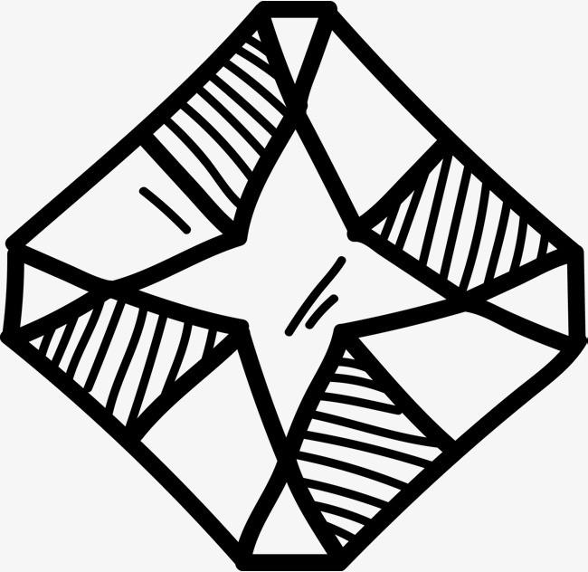钻石手绘图