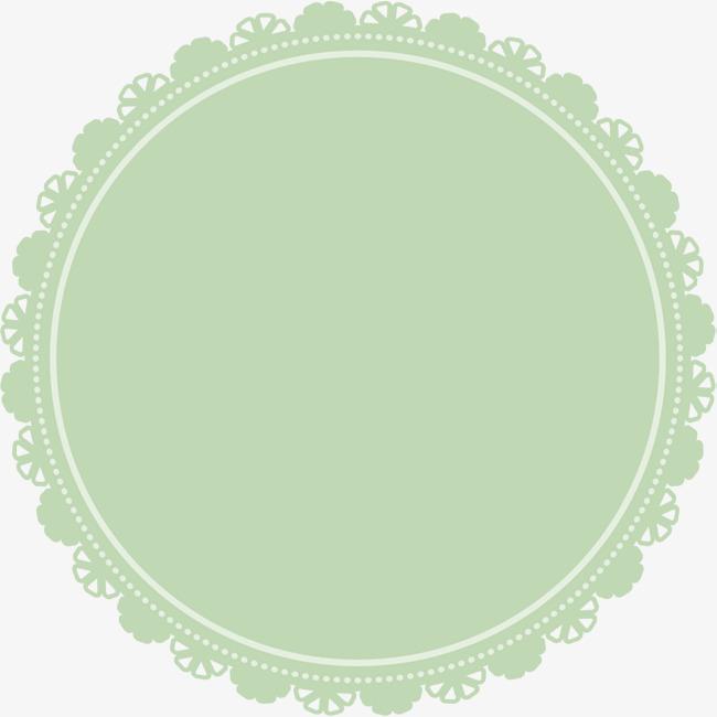 绿色圆圈卡片_png素材免费下载_ 2000*1997像素(编号