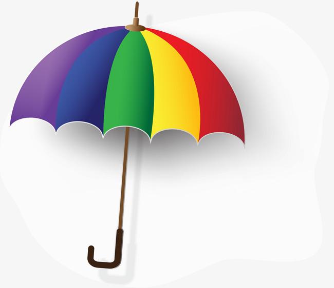 90设计提供高清png装饰元素素材免费下载,本次创意多彩雨伞作品为设计图片