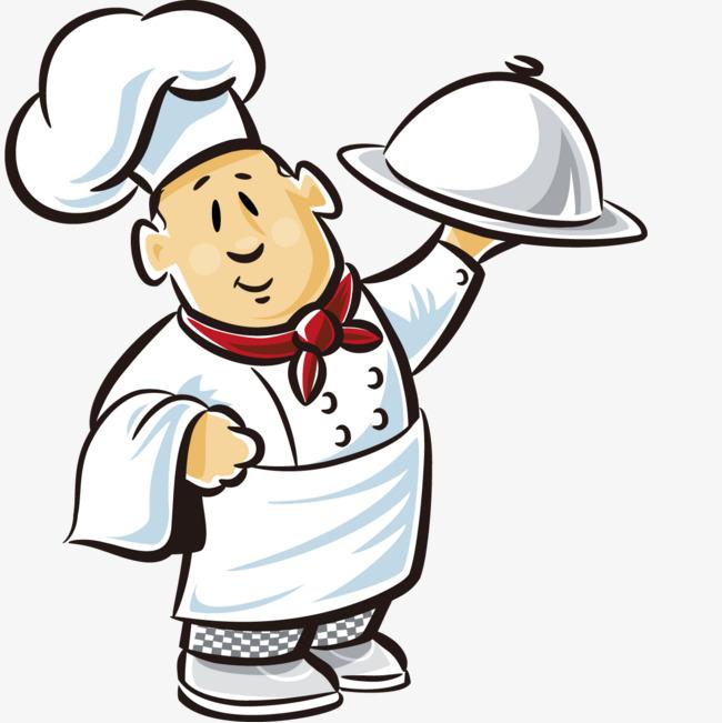 手绘卡通厨师