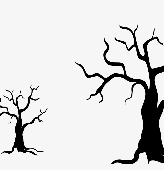 大树的动漫手绘图