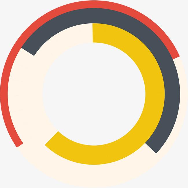 09:49 90设计提供高清png装饰元素素材免费下载,本次创意多彩圆圈作品