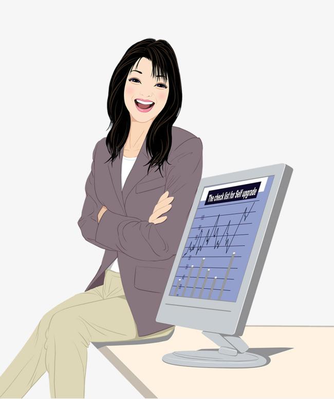 大全双手女生抱胸的商务名字素材图片免费下载姓矢量女孩插图墨图片