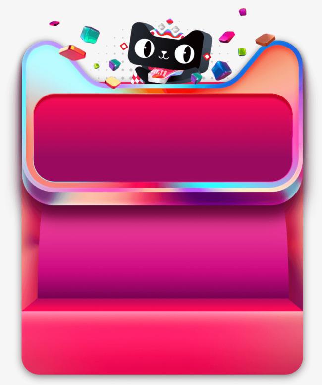 天猫炫酷标题框装饰栏