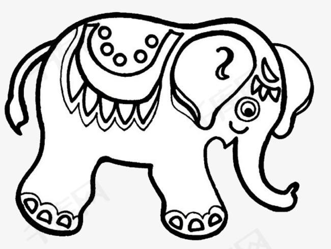 一头大象素材图片免费下载 高清png 千库网 图片编号9207415
