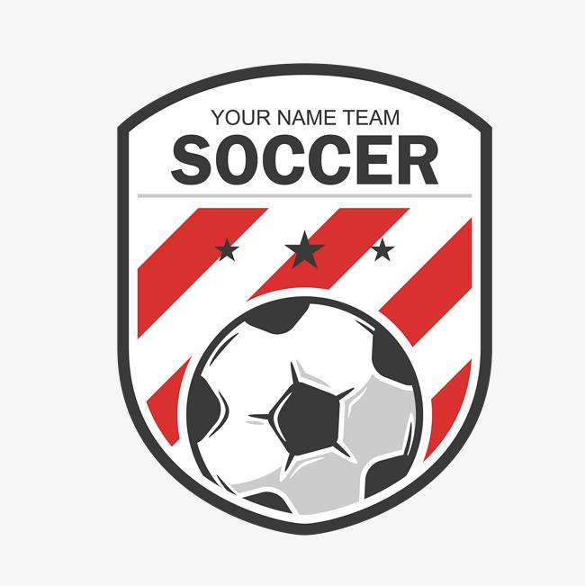 本次足球徽章logo标志矢量作品为设计师创作,格式为png,编号为图片