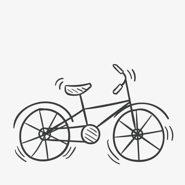 线条自行车