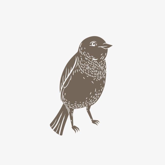 飞行小鸟简笔画