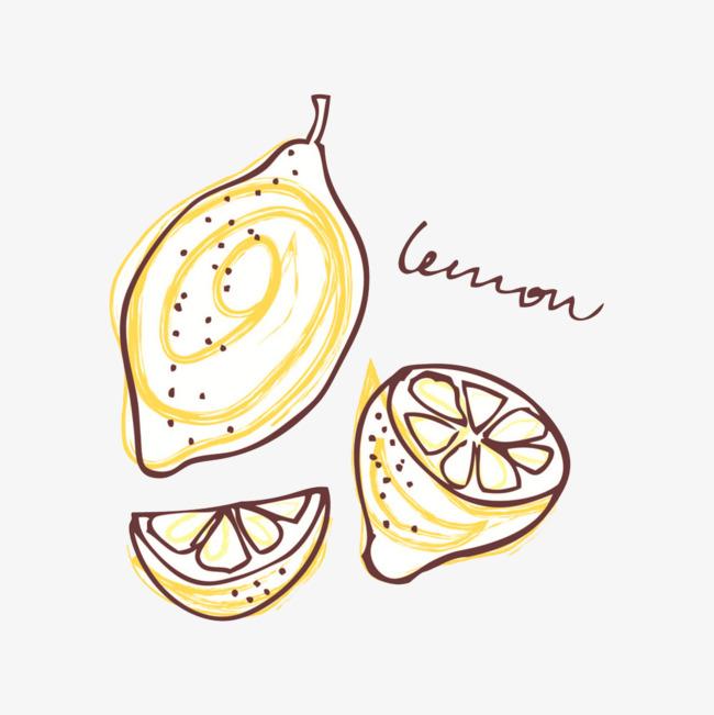 图片 > 【png】 手绘柠檬