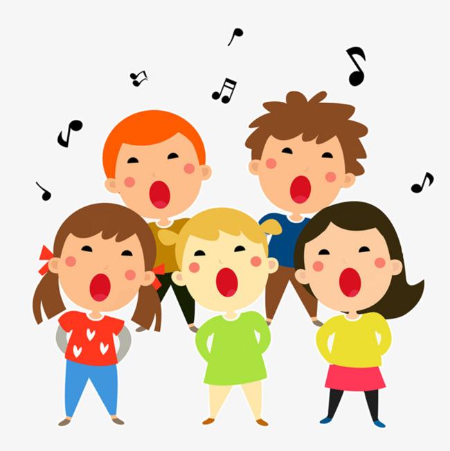 本次幼儿园孩子大合唱作品为设计师楞♀严创作,格式为png,编号为