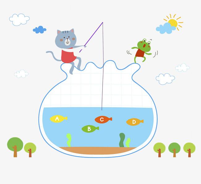 透明鱼缸图片