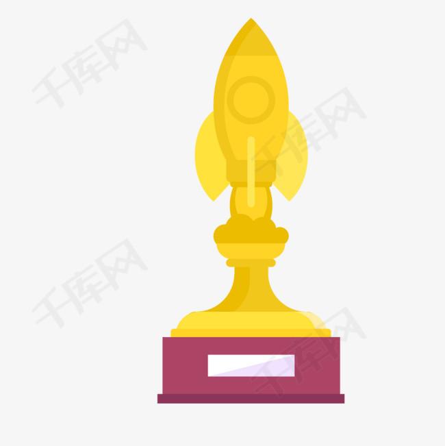 手绘火箭奖杯素材图片免费下载 高清png 千库网 图片编号9258106