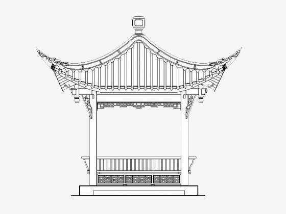 亭子简笔画素材图片免费下载 高清png 千库网 图片编号9273738