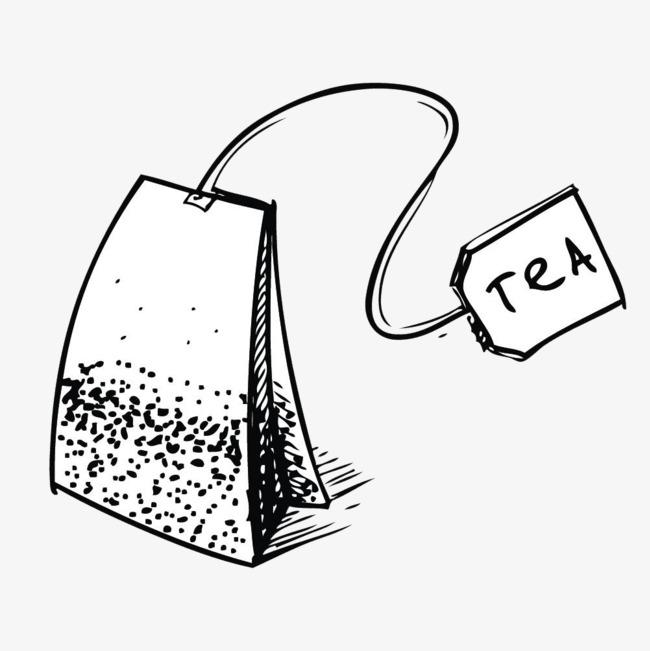 手绘茶叶包
