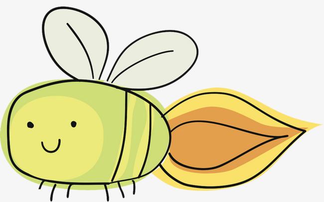 卡通萤火虫图片