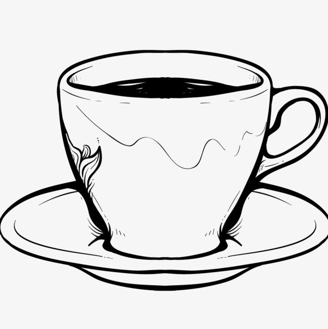 手绘咖啡_png素材免费下载_ 1000*1000像素(编号:)_90图片
