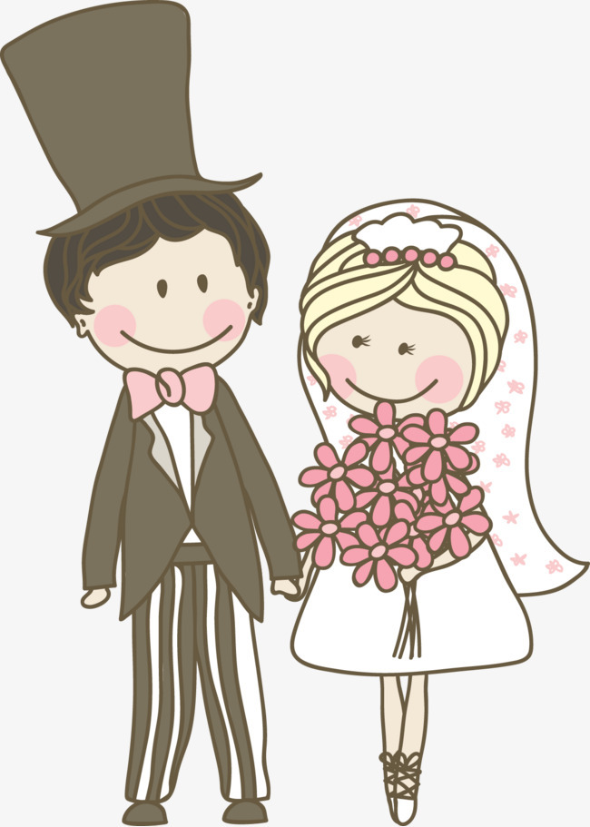 婚礼动漫人物图片唯美 结婚的图片唯美动漫图片