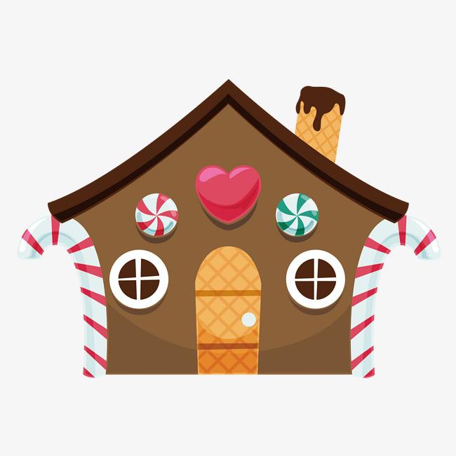 卡通蛋糕房子图片
