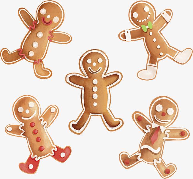 水彩手绘饼干图片