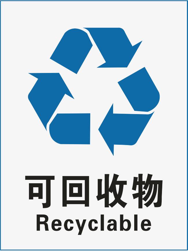 可回收垃圾标示