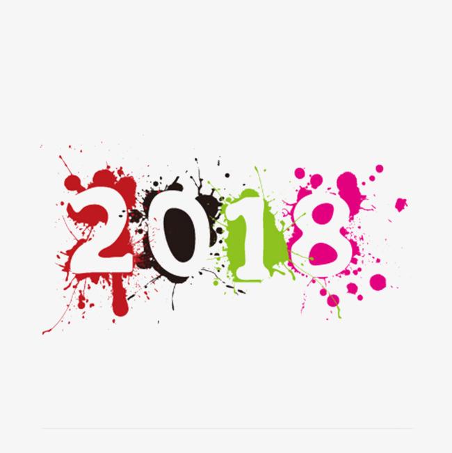 彩色墨点2018字体v彩色素材图片免费下载_高清水景景观设计图图片