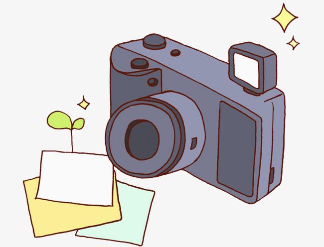 手绘照相机
