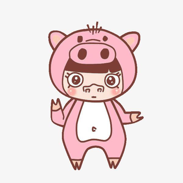 粉色可爱的小猪猪