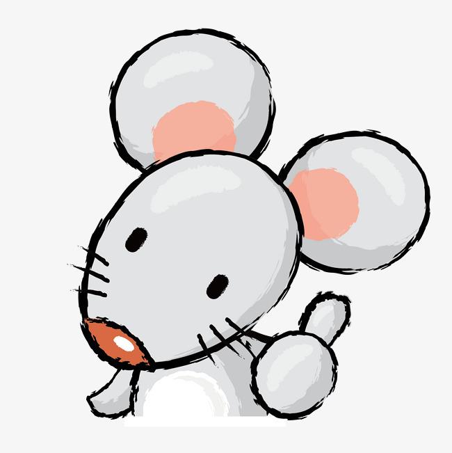 手绘小老鼠