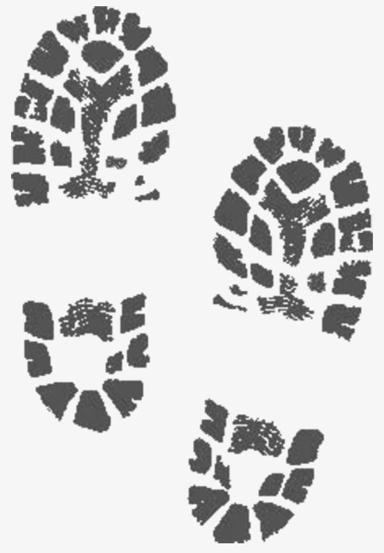 黑色小孩脚印鞋印_png素材免费下载_ 555*800像素(:)