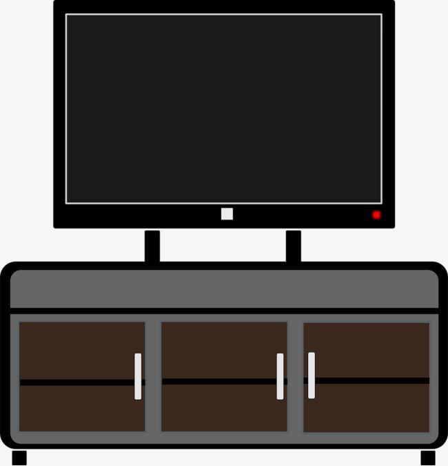 卡通黑色的电视柜