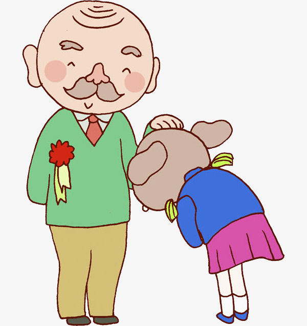 幼儿园鞠躬图片
