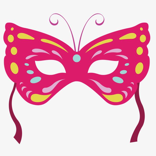 舞会面具 面具 舞会 蝴蝶形状